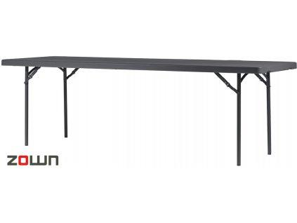 Cateringový stůl 244 x 76 cm plastový
