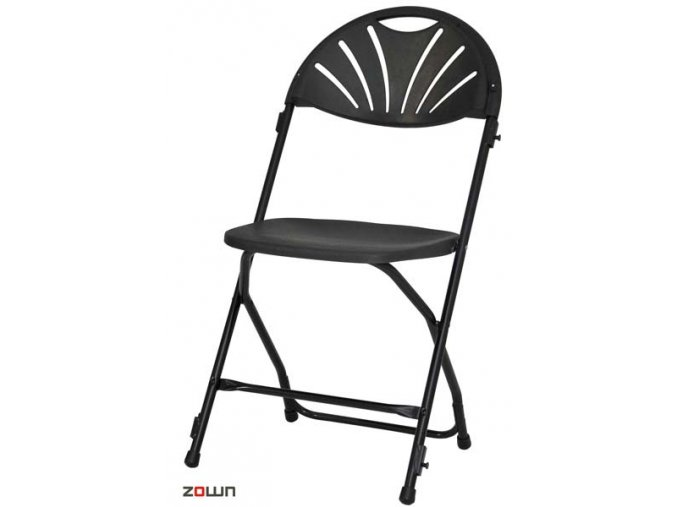 Skládací židle Alexandra řadovací černá
