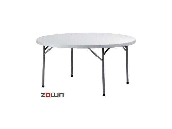 Rautový stůl 160 cm skládací