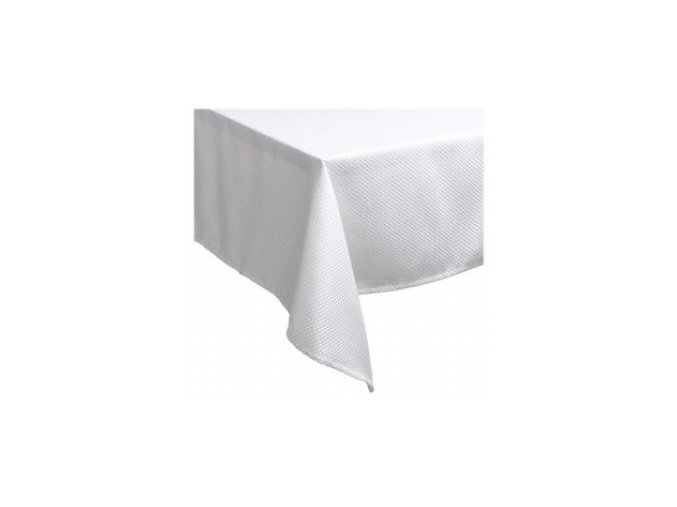 Bílý ubrus 140 x 100 cm.
