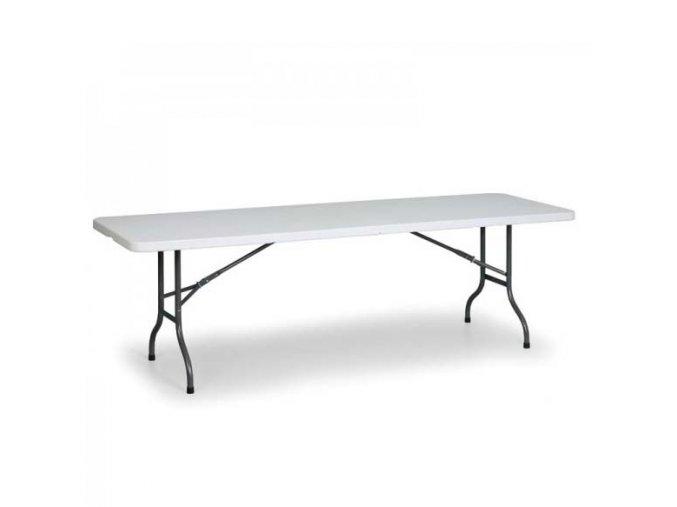 Plastový skládací stůl 162x71,5 cm