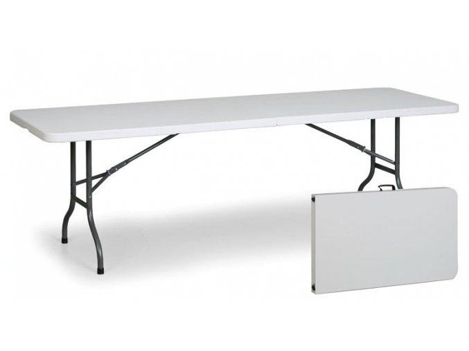 Stůl 183 x 76 cm, půlená deska