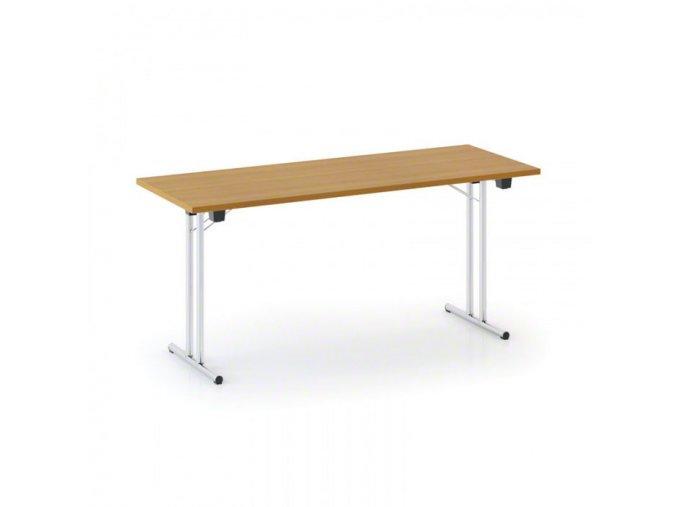 Skládací stůl Folding 160x80 cm, třešeň