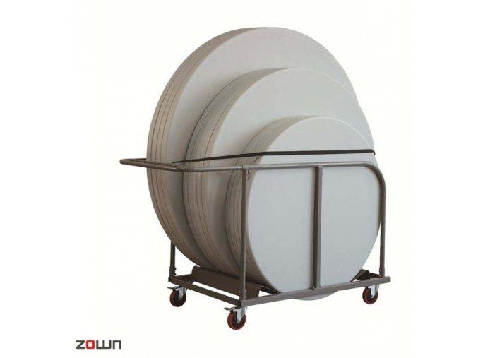 Transportní vozík pro kulaté stoly