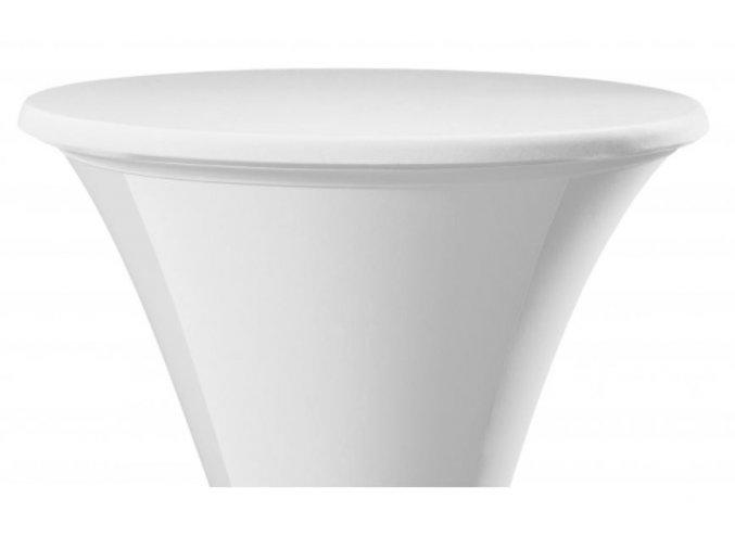 Elastický potah (čepice) na desku 80 cm, bílý