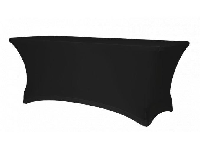 Elastický návlek na stůl, černý