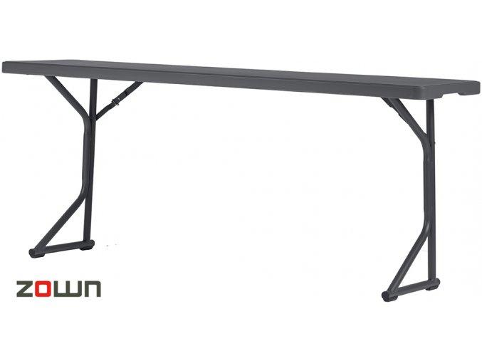 Skládací stůl 183 x 46 cm, školní lavice