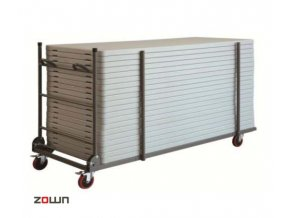 Transportní vozík pro stoly široké 91 cm