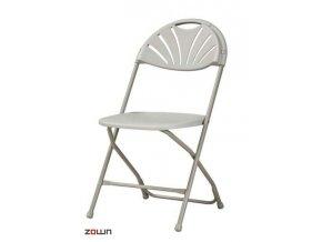 Skládací židle Alexandra šedá