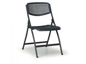 Skládací židle Click černá