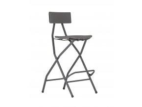 Barová skládací židle