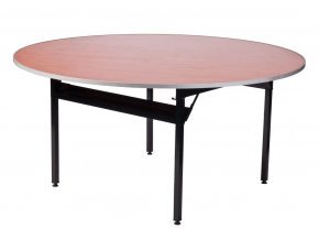 Banketový stůl skládací kulatý