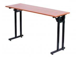 Cateringový stůl typu školní lavice