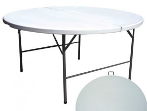 Cateringový stůl 150 cm, skládací deska