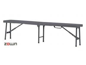 Skládací lavice Zown pro 3 osoby