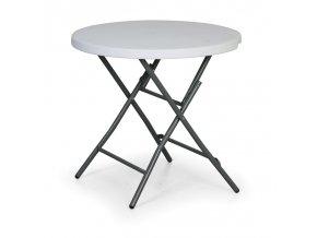 Skládací stolek kulatý, průměr 80 cm