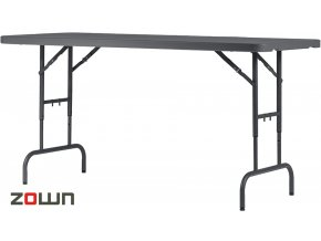 Výškově nastavitelný stůl 183 x 76 cm