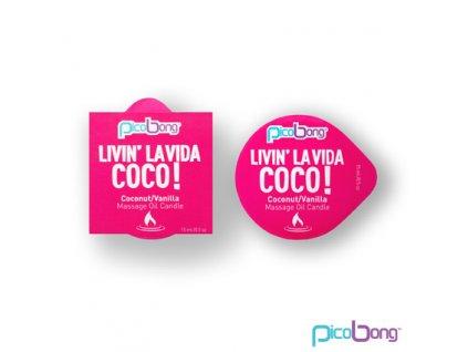 kokos vanilka