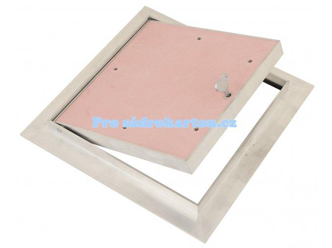 EI30 sádrokartonový strop klíček sádrokarton 25.0  protipožární revizní dvířka (Velikost 600x600)
