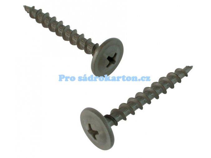 Samořezný šroub FN rámová hlava-závit TX 100 ks balení (Velikost 4.2x55 - 100 ks balení)
