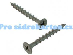 Samořezný šroub TX -100 ks balení (Velikost 3.5x55 - 100 ks v balení)
