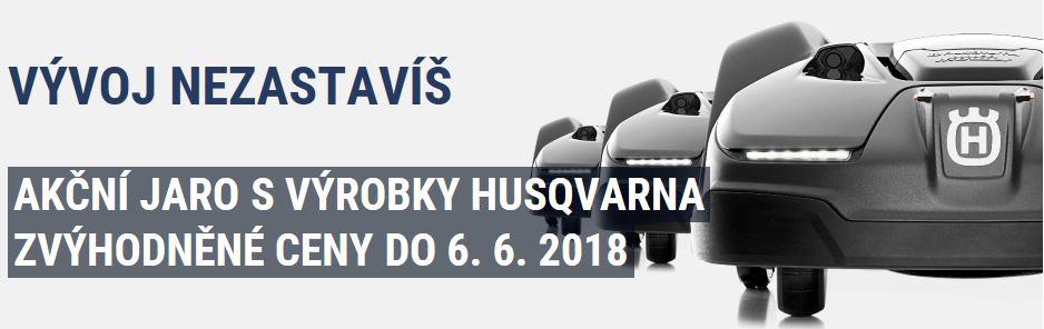 JARNÍ AKCE S HUSQVARNOU 2018