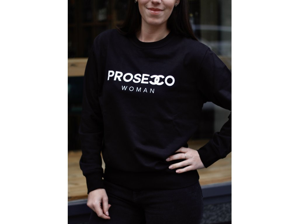 MIKINA PROSECCO WOMAN / BLACK - XS