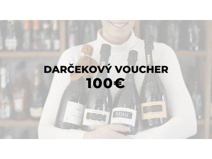 DARČEKOVÝ VOUCHER 100 €