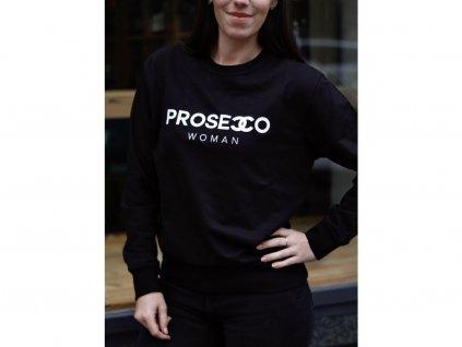 MIKINA PROSECCO WOMAN / BLACK - XS