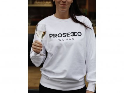 MIKINA PROSECCO WOMAN / WHITE - XS