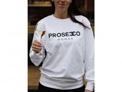 MIKINA PROSECCO WOMAN / WHITE - S
