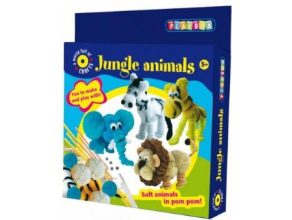 Zvířátka Jungle Animals