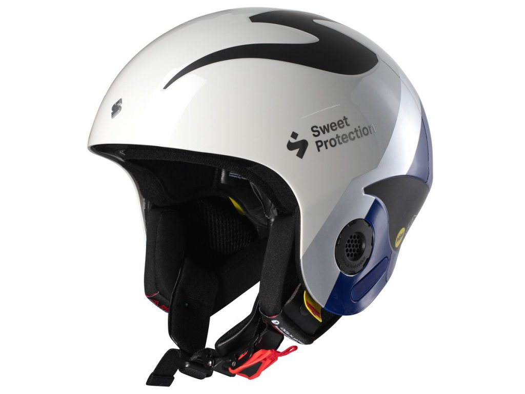 Lyžařská helma SweetProtection Volata MIPS TE Helmet - Henrik Kristoffersen