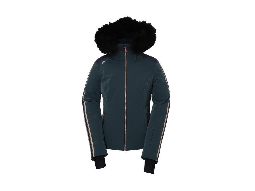 Dámská lyžařská membránová péřová bunda Phenix Emerald Hybrid Down Jacket