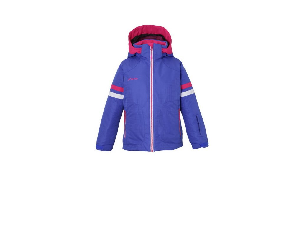 Dívčí lyžařská membránová bunda Phenix Snow Daisy Kid's Jacket