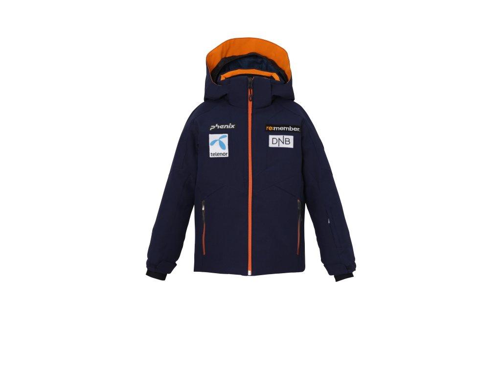 Dětská lyžařská membránová bunda Phenix Norway Alpine Team Kids Jacket