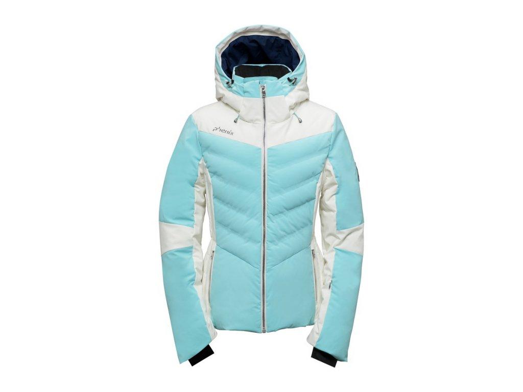 Dámská membránová lyžařská bunda Phenix Chloe Hybrid Down Jacket
