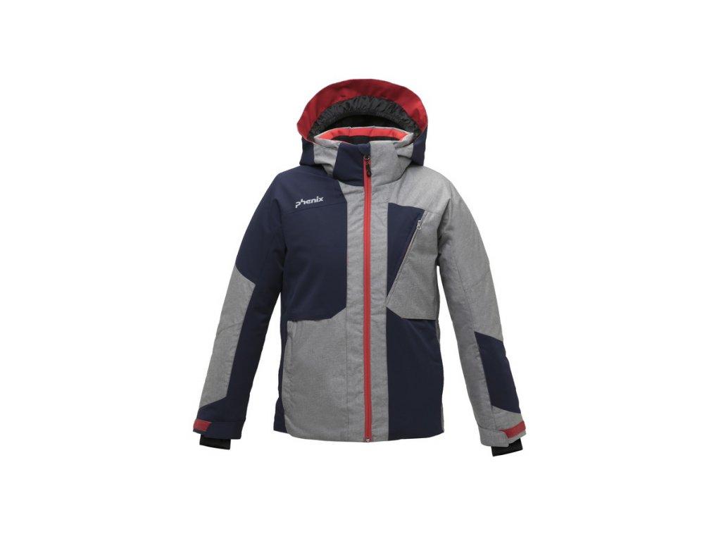 Dětská membránová lyžařská bunda Phenix Mush IV Jr. Jacket