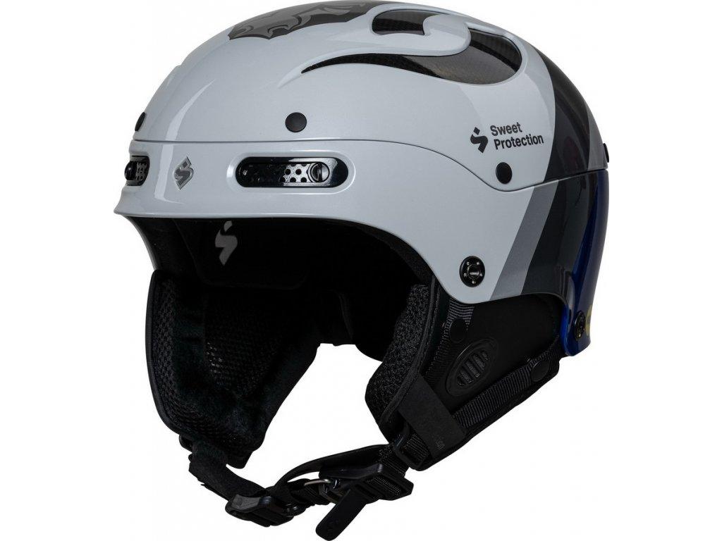 Lyžařská helma Sweet Protection Trooper II SL MIPS Team Edition Helmet - Henrik Kristoffersen