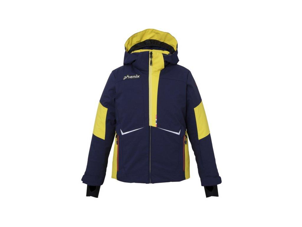 Juniorská lyžařská membránová bunda Phenix Norway Alpine Team jr Jacket