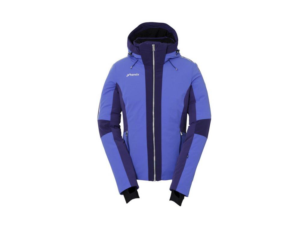 Dámská lyžařská membránová péřová bunda Phenix Sapphire Hybrid Down Jacket