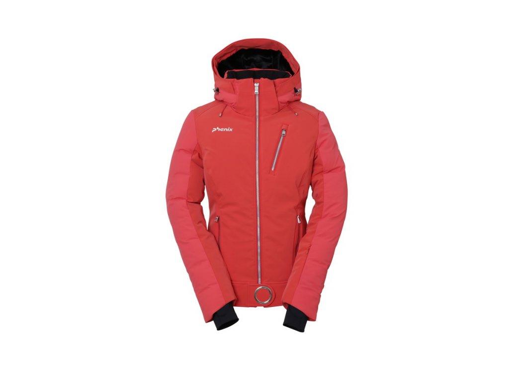 Dámská lyžařská membránová péřová bunda Phenix Ruby Hybrid Down Jacket