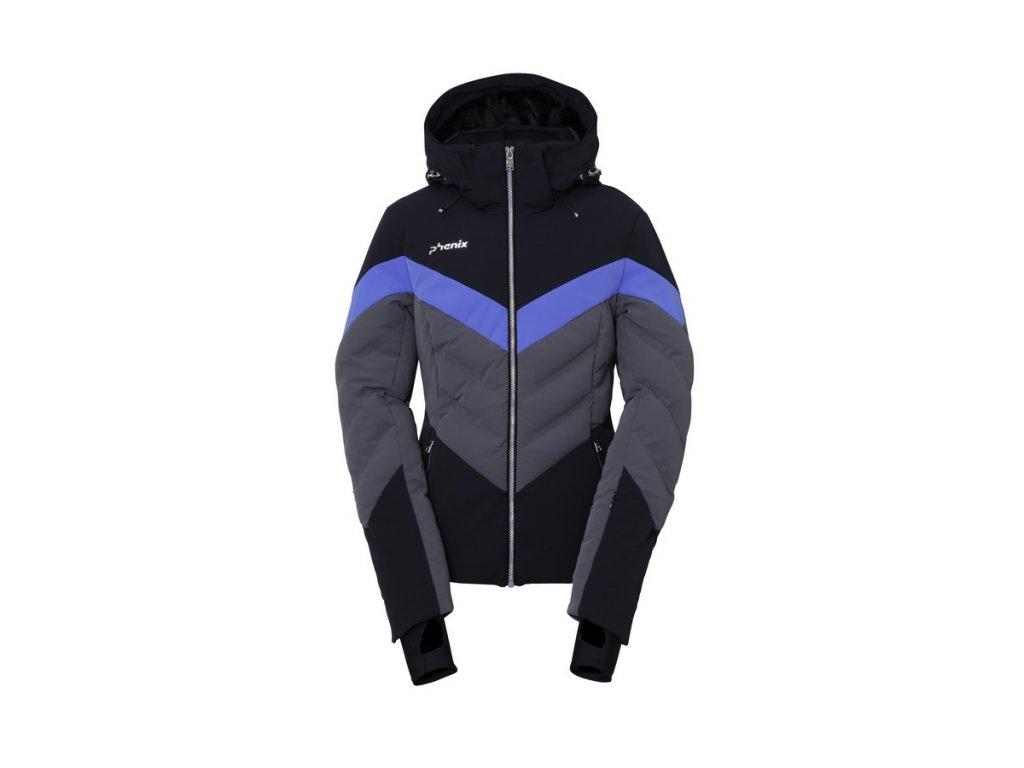 Dámská lyžařská membránová bunda Phenix Emerald Hybrid Down Jacket