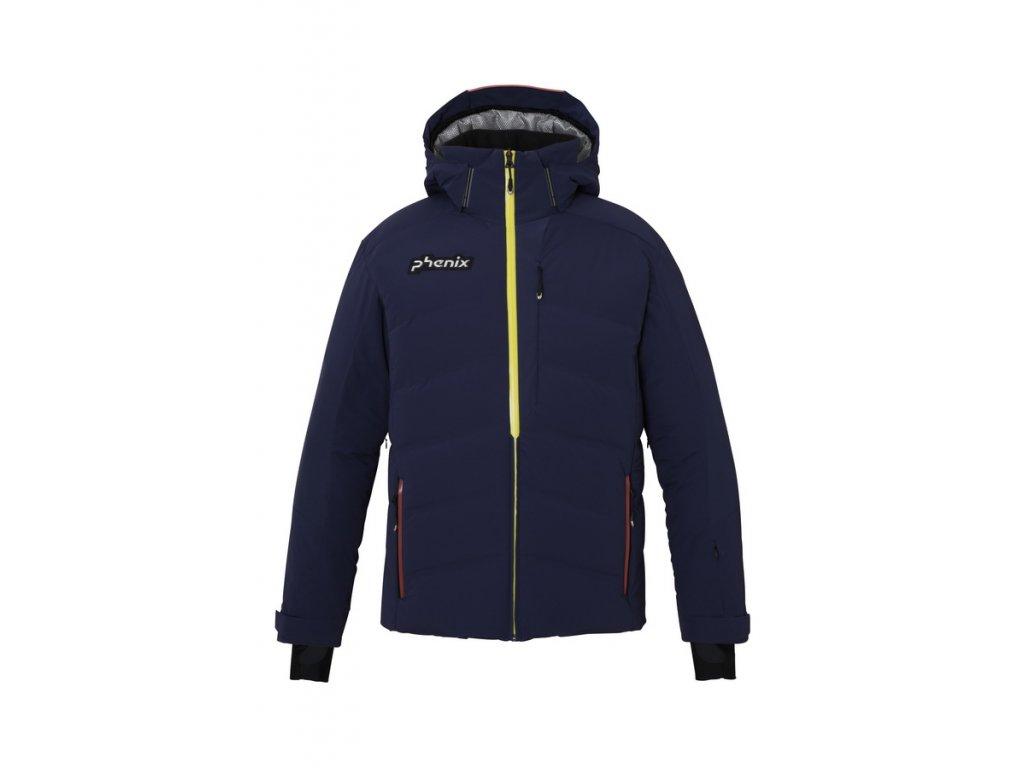 Pánská membránová péřová lyžařská bunda Phenix Norway Alpine Team Hybrid Down Jacket