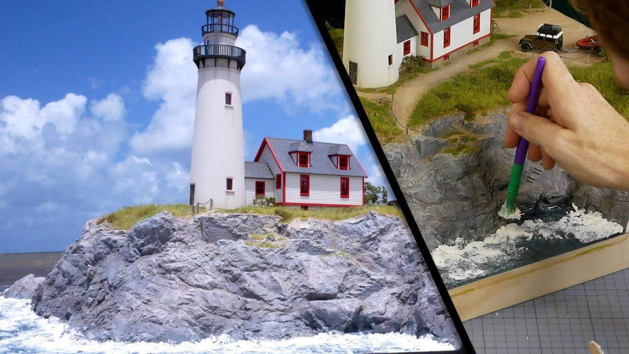 Video postupy: Realistické scenérie - pobrežná dioráma