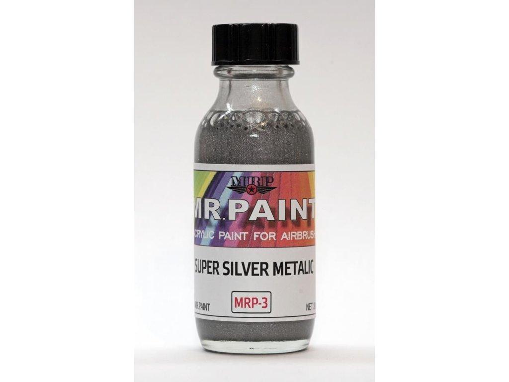 MRP-003 Super Silver Metalic 30ml