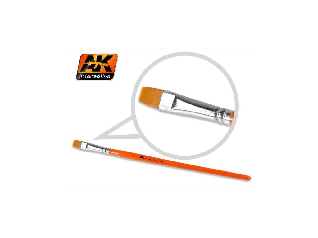 Flat Brush 8 Synthetic / plochý štetec