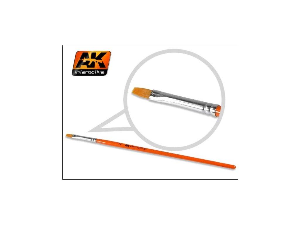 Flat Brush 2 Synthetic / plochý štetec