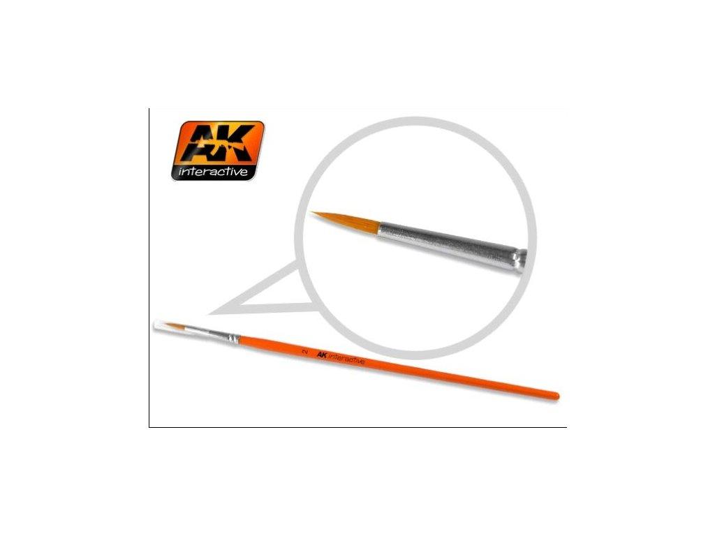 Round Brush 2 Synthetic / okrúhly štetec