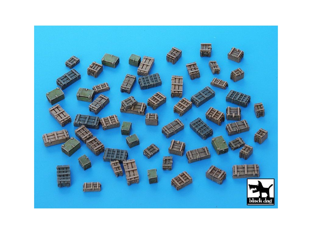 Boxes accessories set 1:72